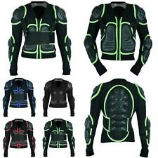 Kids Motorcross ATV Protective Jacket Body Armour Motorbike Chest Back Protector