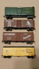 HO Scale Athearn, Accurail and Roundhouse 40ft Boxcars. C&O, C&EI, Lackawana