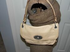 Fossil Maddox Convertible Flap Camel Shoulder Bag Purse L0817