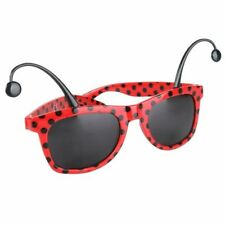 Lady Bug Glasses - Costume Accessory