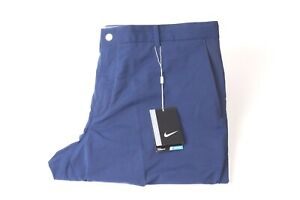 Nike Men's Modern Tech Woven Dry Fit Trouser - Blue - 38/32