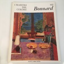I maestri del colore Bonnard (n.142) Fabbri Editori 1966 prima edizione