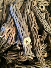 """New listing 10, 6-8"""" Pieces of Untreated, Organic Cholla Cactus Wood"""