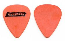 Nickelback Chad Kroeger Signature Orange Guitar Pick - 2001 Tour