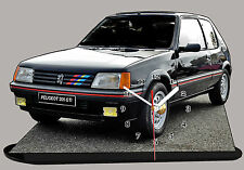 MODEL CARS, PEUGEOT 205 GTI -01 with Clock