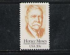 ESTADOS UNIDOS/USA 1984 MNH SC.2095 Horace Moses