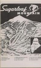 Sugarloaf USA 1950's Trail Map Ski Poster Kingfield ME Maine