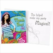 WIZARDS OF WAVERLY PLACE THANK YOU NOTES (8) ~ Birthday Party Supplies Cards