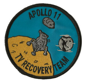 Apollo TV Recovery Team space program US Navy ship recovery force patch