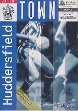 HUDDERSFIELD TOWN v BARNET 93-94 LEAGUE MATCH  LAST SEASON LEEDS ROAD