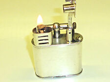 "DUNHILL ""UNIQUE Sports"" Liftarm Lighter-SILVER PLATED-Switzerland-RARE"
