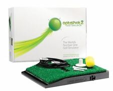 OPTISHOT Simulatore di golf 2-Play I MONDI preferita campi da golf a casa!