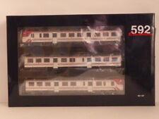 Electrotren HO Gauge E3420 RENFE 3 Piece DMU Set Class 592 CERCANIAS EPOC V-VI