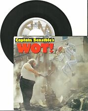 "Capitano sensibile's, WOT, VG/VG + 7"" single 0375"