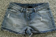 Shorts Used Look Denim Jeans Mädchen D 158 / 34