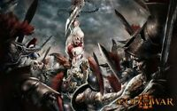 POSTER GOD OF WAR KRATOS 2 3 PLAYSTATION 3 GRANDE PS3 1