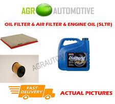 DIESEL OIL AIR FILTER KIT + 0W40 OIL FOR VAUXHALL CASCADA 2.0 165 BHP 2013-