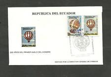 BALLOON - ECUADOR FDC 1984, VF