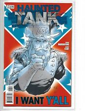 Haunted Tank #4 // DC Vertigo