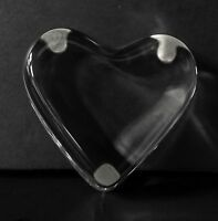BACCARAT CLEAR CRYSTAL HEART