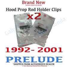 1992- 2001 Honda PRELUDE Genuine OEM Hood Prop Rod Holder Clip (91503-SS0-003x2)
