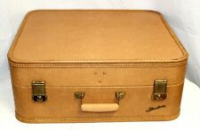 Vintage 1950s Baltimore Luggage Co. Starline Ladies Leather Suitcase