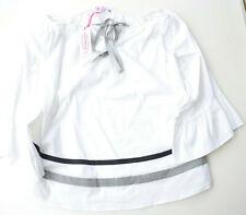La Camicia Bluse, Gr.40,weiss,Baumwollmischung, UVP 149,-€(13)