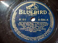 Josephine Therese, Marilyn Miller & Bobby Hastings - Mother Goose Nursery Rhymes