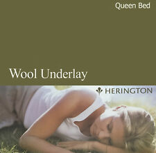 Australian Made Wool Underlay by Herington | Reversible | Queen