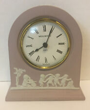 "50% OFF BEAUTIFUL ""RARE""  LILAC WEDGWOOD CLOCK - 250th Anniversary-Needs Battery"