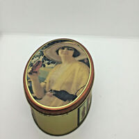"""Vintage Coca-Cola Advertising Tin Canister Box Litho Graphics 6.25""""x4.5""""x2.75"""""""
