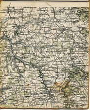 Creglingen Uttenheim Rothenburg 1910 orig Teil-Karte/Ln. Oberimbach Schrozberg