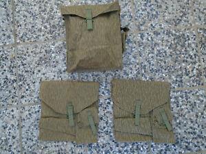 Neu 2 x Packtasche S51 Gummiert für Simson Seitentaschen NVA UTV Maskentasche