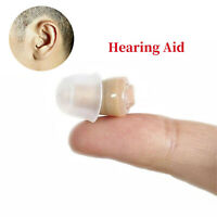 1Pcs Small Adjustable (CIC) Invisible Ear Hearing Aid Sound Amplifier Enhancer