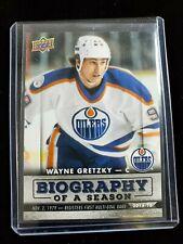 2015-16 Upper Deck Biography of a Season Wayne Gretzky #BIOWG-3 Edmonton Oilers