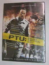 PTU: Police Tactical Unit (DVD, 2008)- Maggie Shiu, Ruby Wong, Simon Yam - NEW