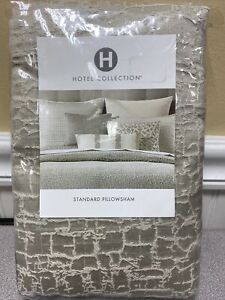 HOTEL COLLECTION Standard Pillow Sham BIRCH, NIP