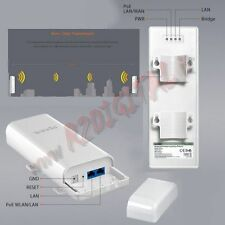 RIPETITORE AMPLIFICATORE ESTERNO TENDA W1500 O3 ANTENNA WIFI ROUTER ACCESS POINT