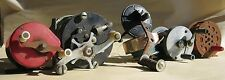 VTG Lot 6X SALTWATER FISHING REELS Assorted Rustic Metal Antique Commodore Ocean