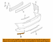 Valance Lincoln LS 2003-2006 Rear Outer Left Bumper Trim Ford 3W4Z-17626-AC  L3