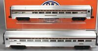 "✅LIONEL PENNSYLVANIA CONGRESSIONAL 18"" ALUMINUM 2 CAR PASSENGER SET 6-25455 NEW!"