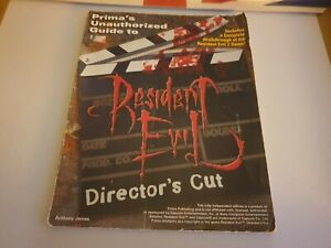 RESIDENT EVIL DIRECTOR'S CUT. PRIMA'S UNOFFICIAL STRATEGY GUIDE. Game guide.