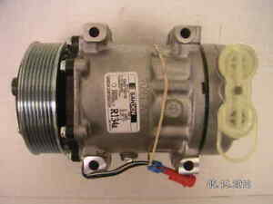 NEW AC COMPRESSOR 2004, 2005, 2006, 2009 CHEVROLET C6500, C7500 TOPKICK, KODIAK