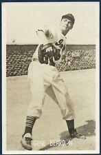 1948 CLEVELAND INDIANS Team Issue Postcard GENE BEARDEN