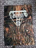 ASPHYX - The rack FLAG Heavy thrash death METAL cloth poster