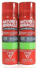 2 Nature's Miracle 17.5 Oz Advanced Severe Mess Enzymatic Stain Eliminator Foam