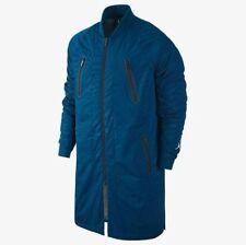 Nike Air Jordan 12 Bomber Parka Men's Jacket - Small French Blue 724718 442