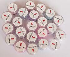 coloured acrylic powder bundle pre-mixed 4g pot colour glitterama