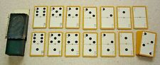 Card Dominoes. Boxed set c.1920s? Made by Goodall's. Domino size cards