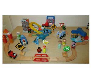 Thomas the Tank Engine Lot, Wooden Trains, Vehicles, Set +++